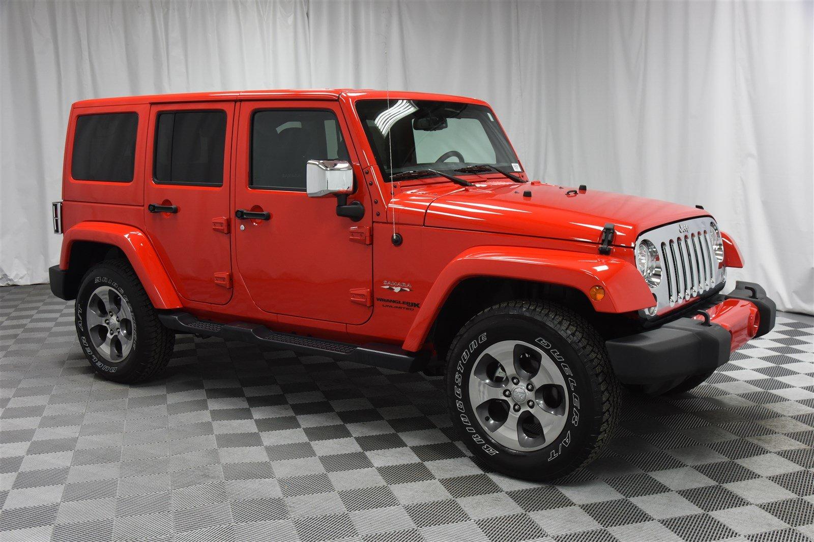 2018 Jeep Wrangler Jk Unlimited Sahara 4 215 4 Banclease